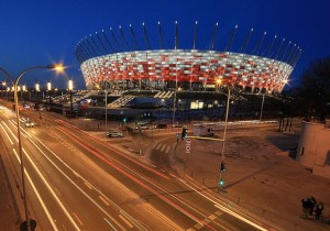 Euro 2012 National Stadium in Warsaw
