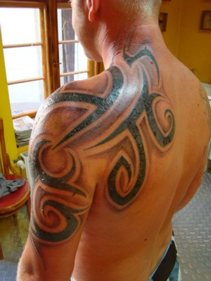 price shoulder tribal tattoo Names: Tattoos Tattoos Kids Ship Pinterest